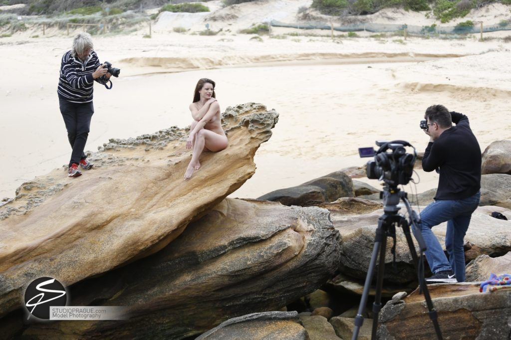 Behind The Scenes Impressions - Glamour Model Productions & Nude Photography Workshops - Australia Art Nudes Outdoor Photography Dan Hostettler - 006