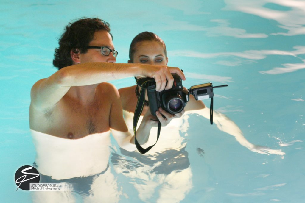 Behind The Scenes Impressions - Glamour Model Productions & Nude Photography Workshops - Dan Hostettler At Work Mixed - 001