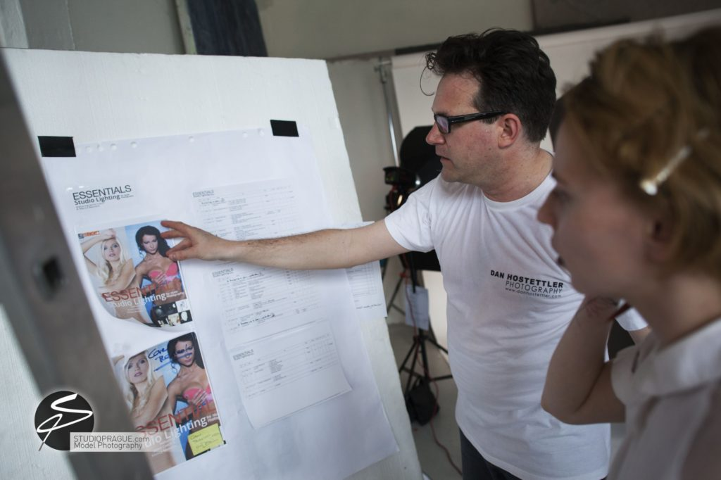 Behind The Scenes Impressions - Glamour Model Productions & Nude Photography Workshops - Dan Hostettler At Work Mixed - 004