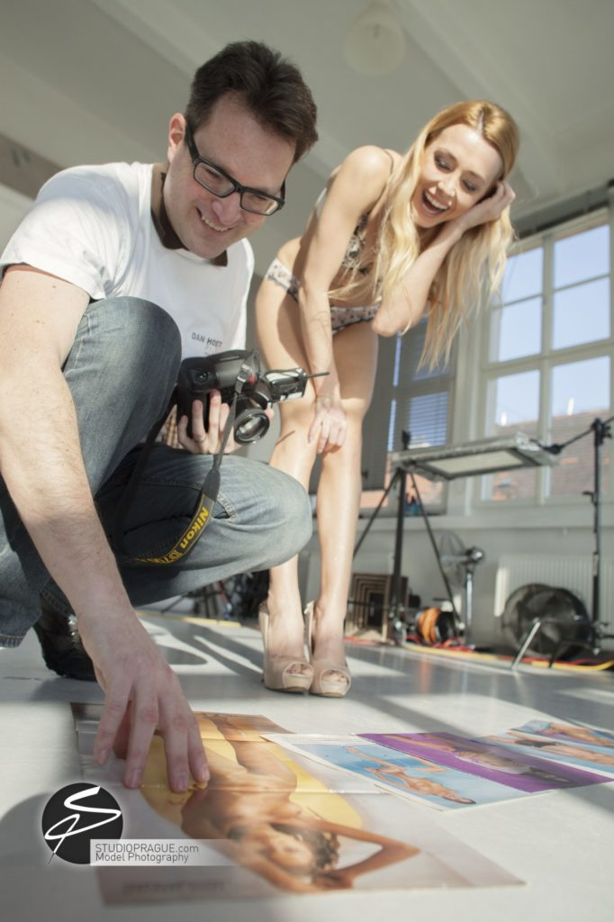 Behind The Scenes Impressions - Glamour Model Productions & Nude Photography Workshops - Dan Hostettler At Work Mixed - 006