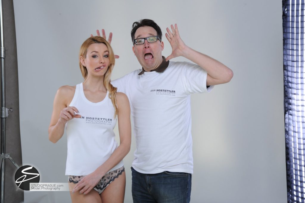 Behind The Scenes Impressions - Glamour Model Productions & Nude Photography Workshops - Dan Hostettler At Work Mixed - 011