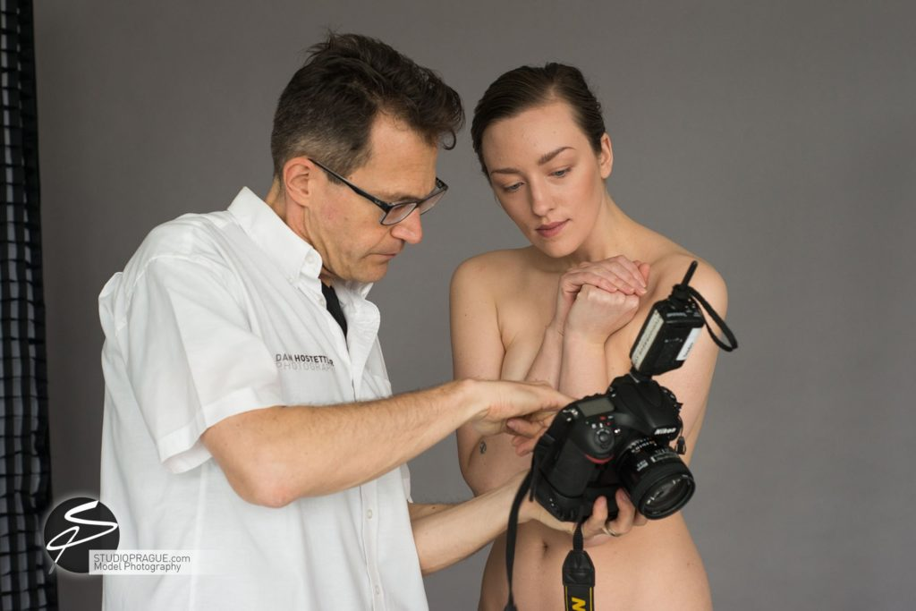 Behind The Scenes Impressions - Glamour Model Productions & Nude Photography Workshops - Dan Hostettler At Work Mixed - 016