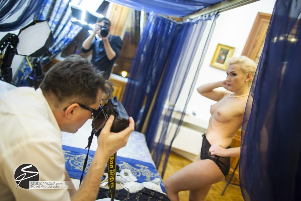 Behind The Scenes Impressions - Glamour Model Productions & Nude Photography Workshops - Dan Hostettler At Work Mixed - 043
