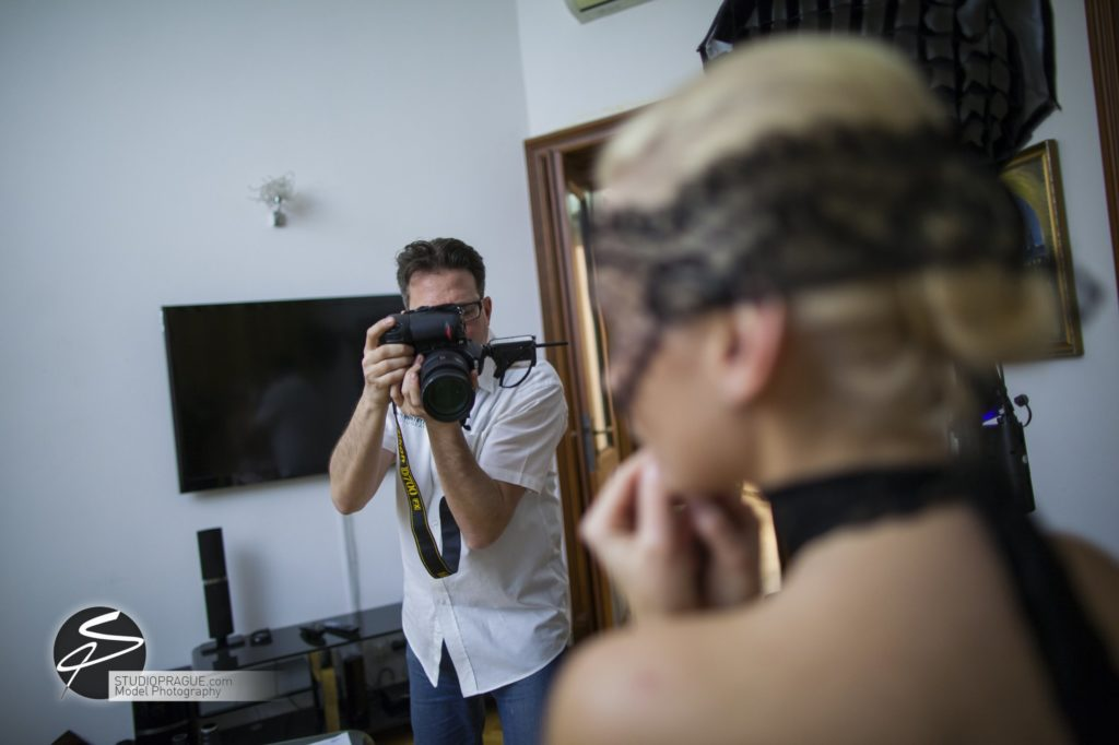 Behind The Scenes Impressions - Glamour Model Productions & Nude Photography Workshops - Dan Hostettler At Work Mixed - 048