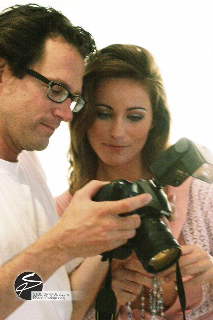 Behind The Scenes Impressions - Glamour Model Productions & Nude Photography Workshops - Dan Hostettler At Work Mixed - 049