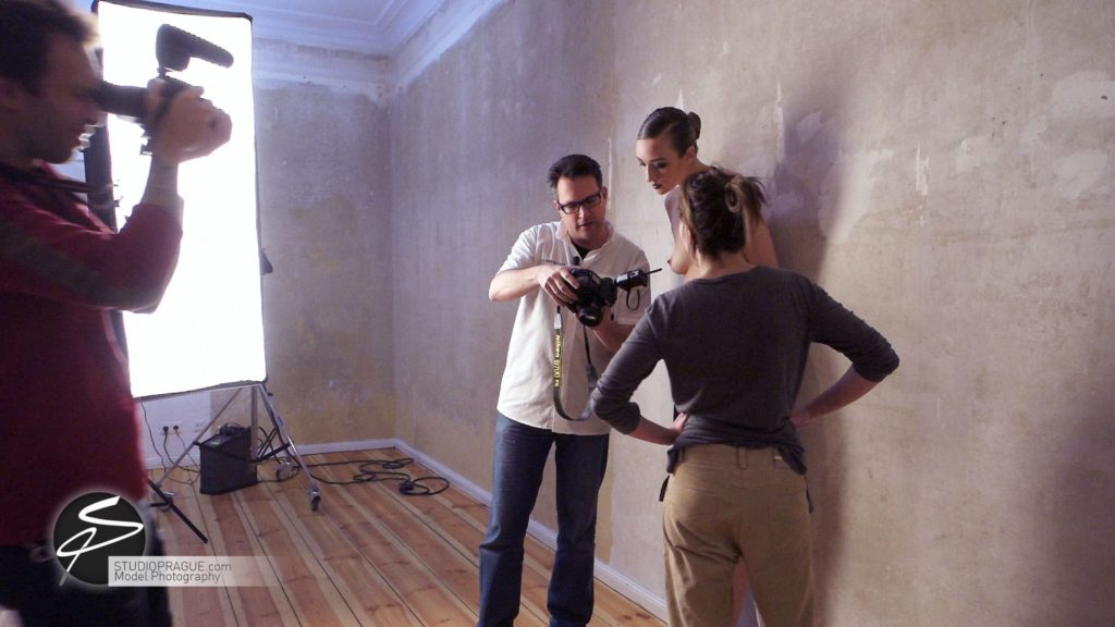 Behind The Scenes Impressions - Glamour Model Productions & Nude Photography Workshops - Dan Hostettler At Work Mixed - 055