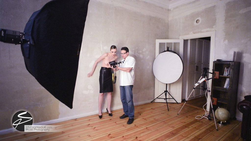 Behind The Scenes Impressions - Glamour Model Productions & Nude Photography Workshops - Dan Hostettler At Work Mixed - 056
