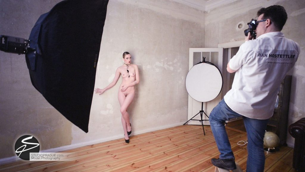 Behind The Scenes Impressions - Glamour Model Productions & Nude Photography Workshops - Dan Hostettler At Work Mixed - 057