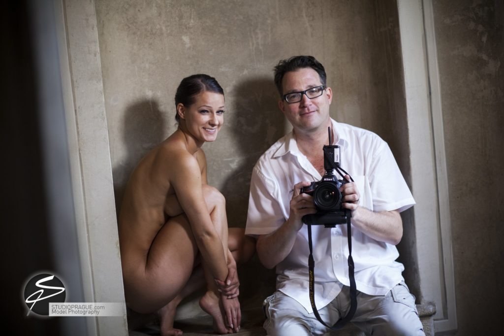 Behind The Scenes Impressions - Glamour Model Productions & Nude Photography Workshops - Dan Hostettler At Work Mixed - 059