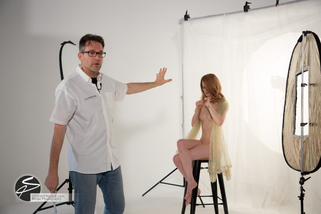 Behind The Scenes Impressions - Glamour Model Productions & Nude Photography Workshops - LIVE Photo Shoot Mastering One Light - 002