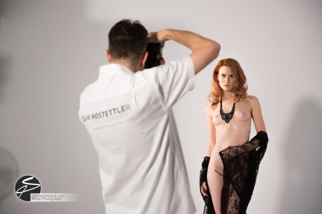 Behind The Scenes Impressions - Glamour Model Productions & Nude Photography Workshops - LIVE Photo Shoot Mastering One Light - 005