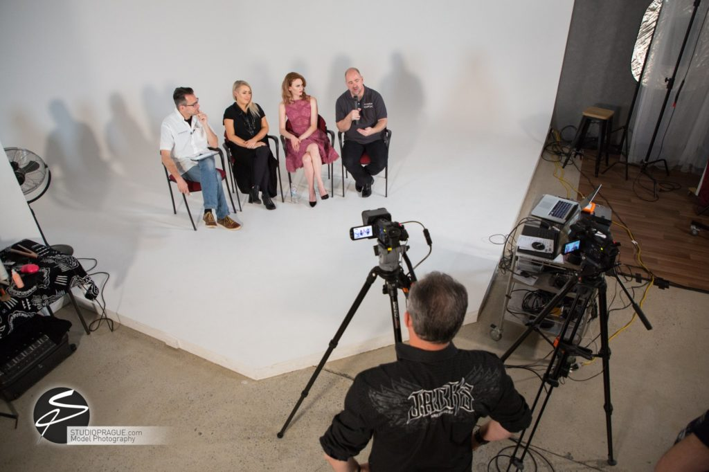 Behind The Scenes Impressions - Glamour Model Productions & Nude Photography Workshops - LIVE Photo Shoot Mastering One Light - 014
