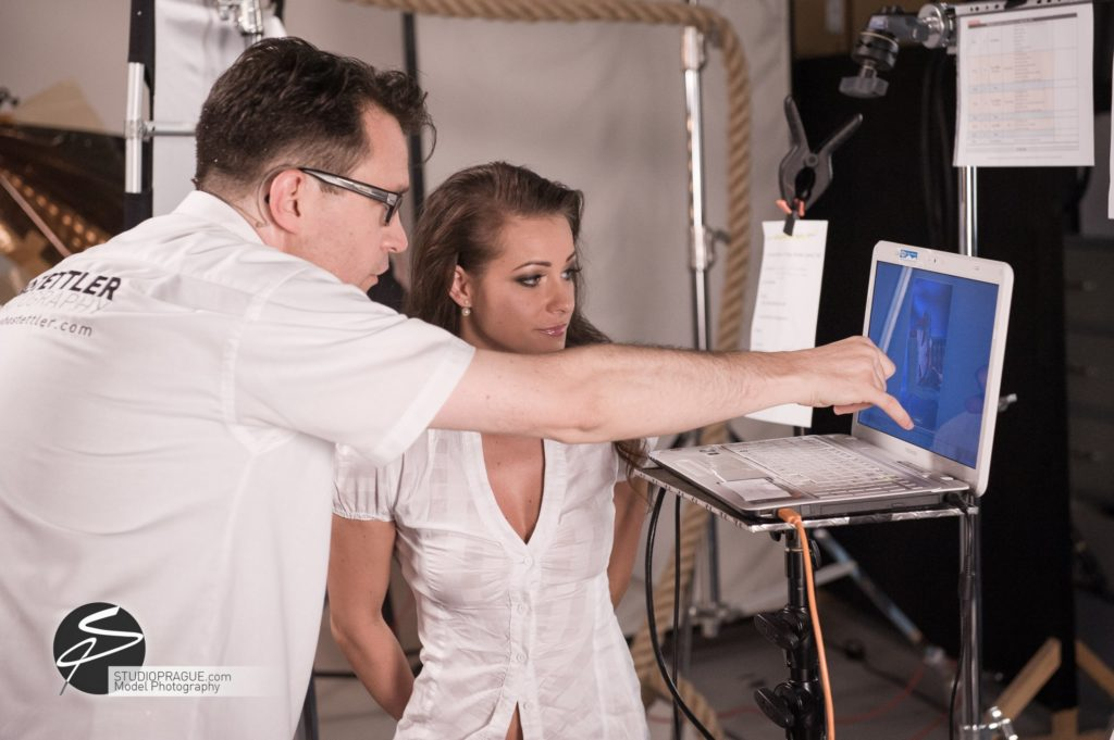Behind The Scenes Impressions - Glamour Model Productions & Nude Photography Workshops - LIVE Photo Shoot Melisa Mendini - 009