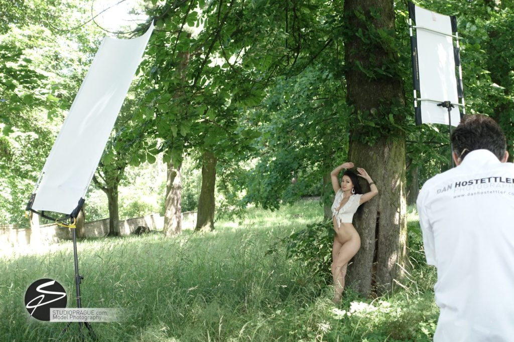 Behind The Scenes Impressions - Glamour Model Productions & Nude Photography Workshops - Outdoor Photography Dan Hostettler - 004