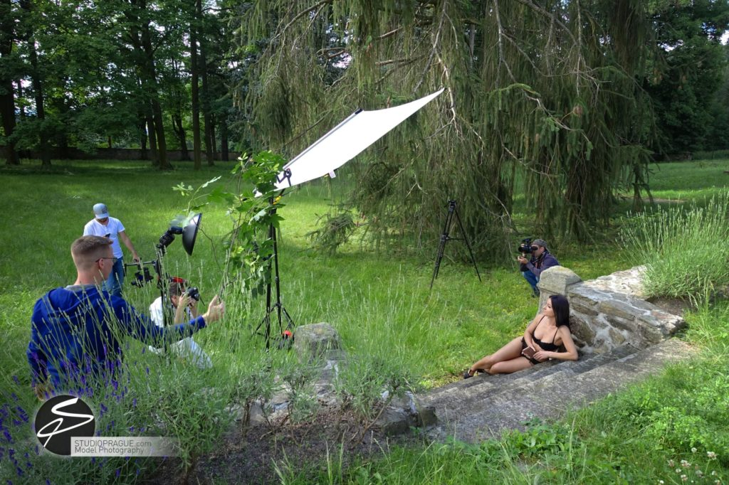 Behind The Scenes Impressions - Glamour Model Productions & Nude Photography Workshops - Outdoor Photography Dan Hostettler - 007