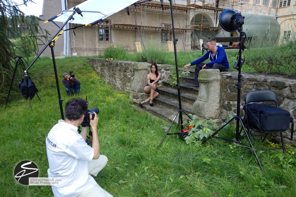 Behind The Scenes Impressions - Glamour Model Productions & Nude Photography Workshops - Outdoor Photography Dan Hostettler - 008
