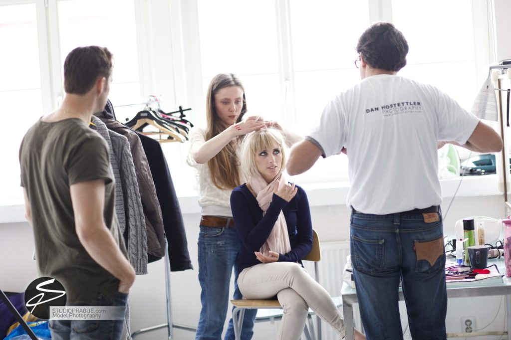 Behind The Scenes Impressions - Glamour Model Productions & Nude Photography Workshops - Photo Model Makeup & Styling - 002