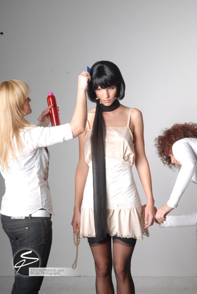 Behind The Scenes Impressions - Glamour Model Productions & Nude Photography Workshops - Photo Model Makeup & Styling - 003