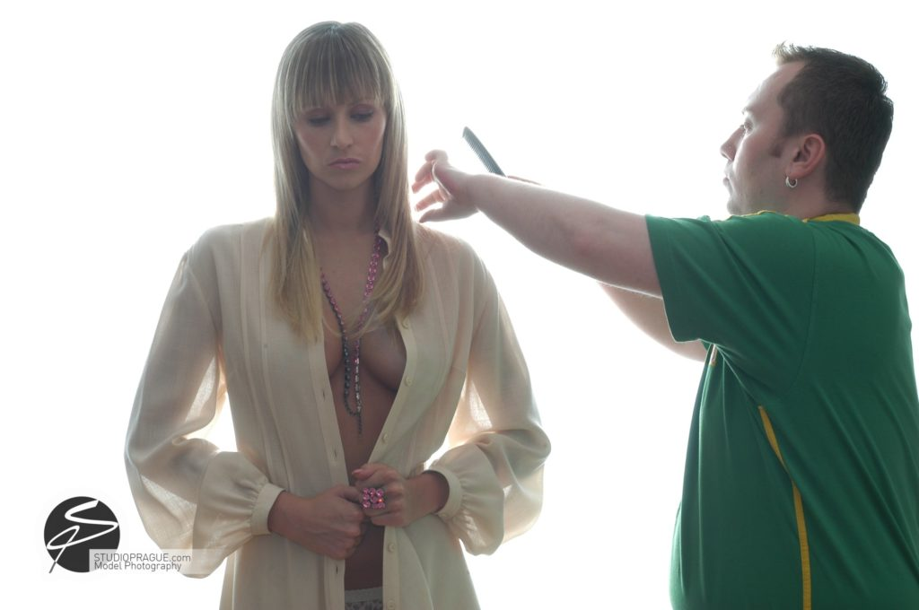 Behind The Scenes Impressions - Glamour Model Productions & Nude Photography Workshops - Photo Model Makeup & Styling - 006