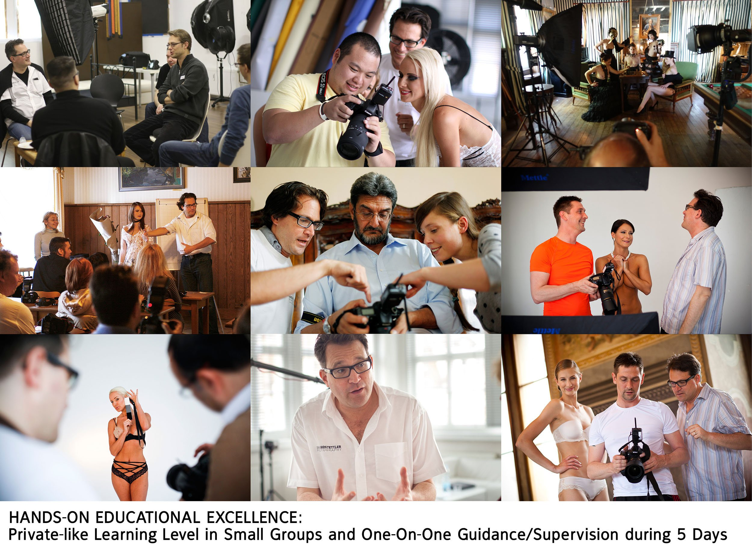 Jumpstart Your Nude Photography - The Prague Intensive 2020 - 5 Days - Nude Photography Imagery