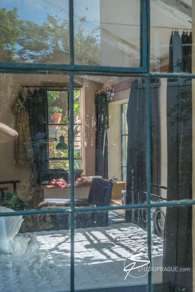 Secret Creative Garden in Prague - B&W Outdoor Art Nudes Workshop in Prague - Photography Retreat StudioPrague Location
